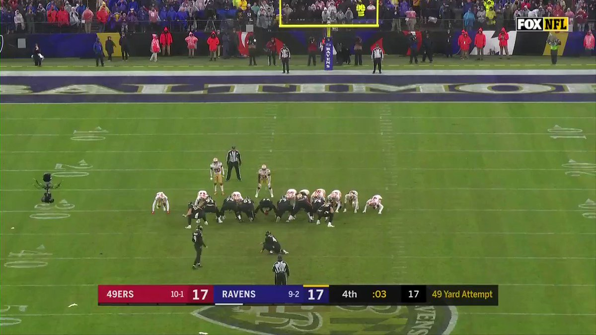 Baltimore Ravens Win At Buzzer Against the San Francisco 49ers