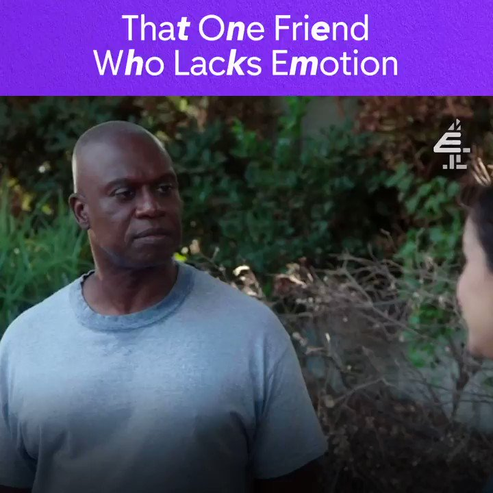 Devastated, disgusted, delighted? NO ONE KNOWS #AndreBraugher #Brooklyn99