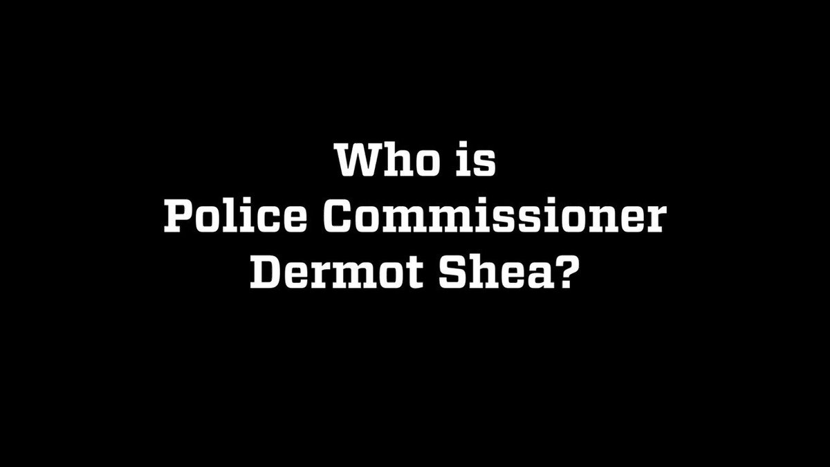 New York City, meet your 44th Police Commissioner, Dermot Shea.  You can follow him on Twitter, @NYPDShea.