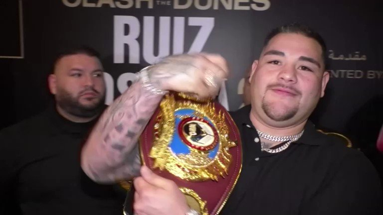 Anthony Joshua said he was close to victory in their first meeting but will not 'mess up' in his second fight with world heavyweight champion Andy Ruiz Jr https://reut.rs/2sD0Drn