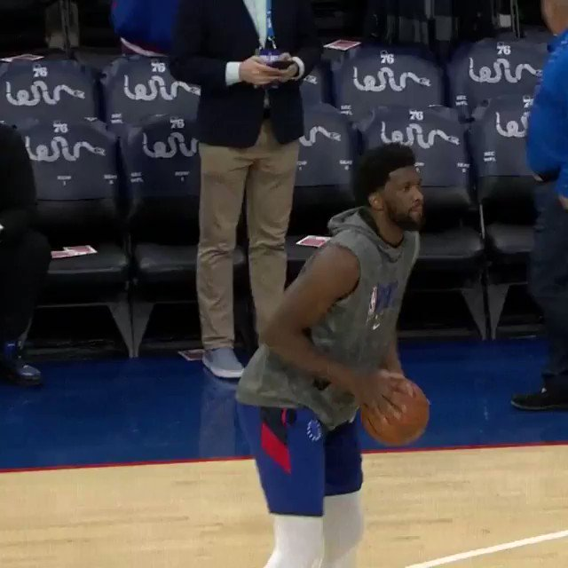 Joel Embiid and the @sixers look to become the 1st team to start BACK-TO-BACK seasons 10-0 at home since DAL and SAC in 2003-04!   🆚: #PhilaUnite x #TakeNote ⏰: 7:00pm/et on @NBATV   Music by @unitedmasters https://t.co/TNjdt5dZX6