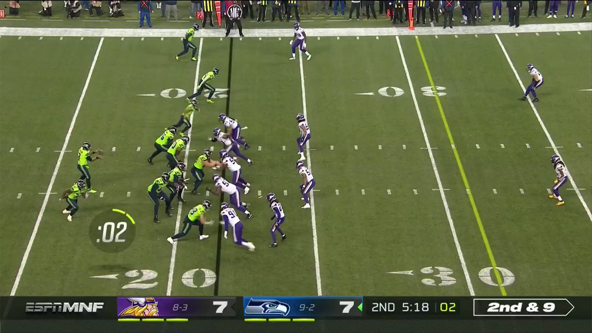 One of the craziest Pick-6s you'll ever see. Anthony Harris to the 🏠 for 6️⃣! @HOOSDatDude #SKOL 📺: #MINvsSEA on ESPN 📱: NFL app // Yahoo Sports app Watch free on mobile: on.nfl.com/9ZZCAT
