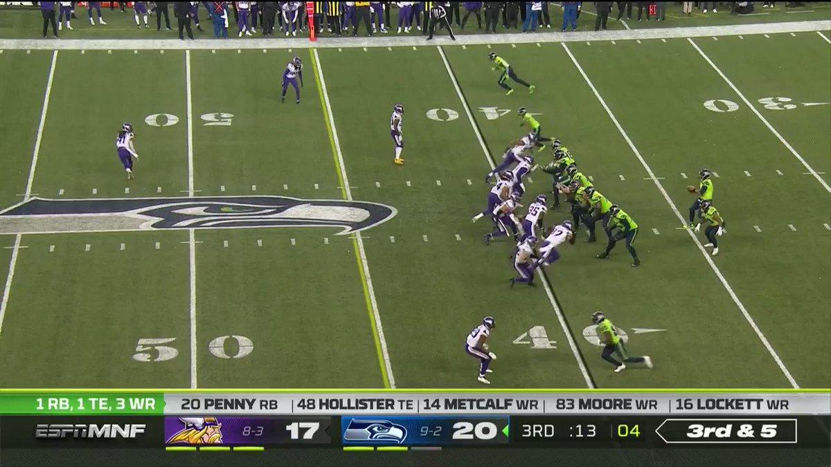 DangerRuss 😤  An absolute dart from Russ 🎯  (via @NFL)