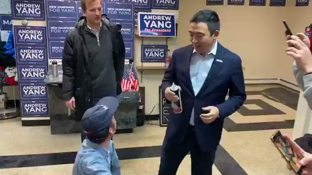 I guess you just can't resist the whipped cream of Andrew Yang in your mouth! 😂😂😂