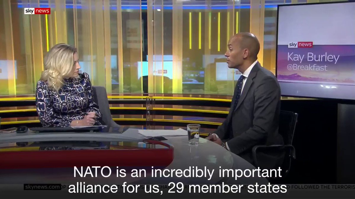 NATO is an incredibly important alliance for the UK having contributed to the peace and prosperity in Europe since World War 2. But as leaders meet for the NATO Summit, both of our main parties are undermining the alliance in their own ways. #NATO70