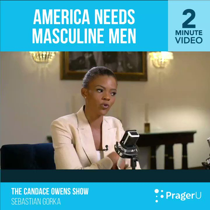 Image for the Tweet beginning: We need strong, masculine men