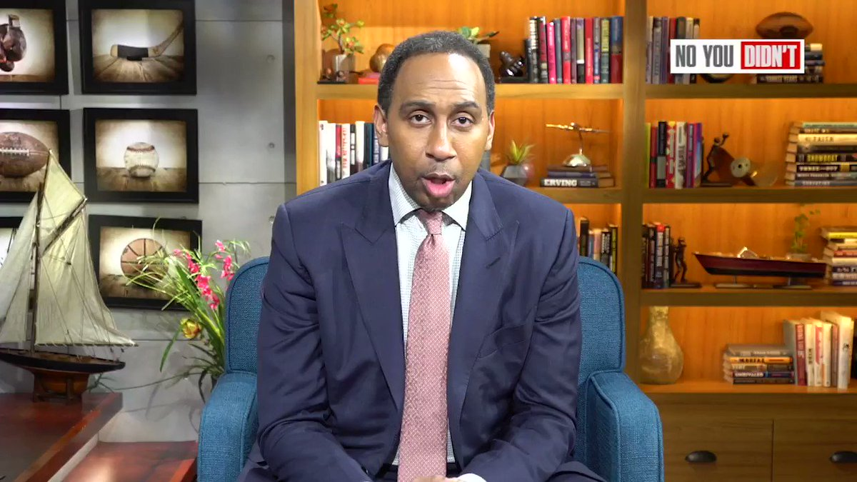 Just because theres no @SportsCenter with Stephen A this week doesnt mean we cant have a #NoYouDidnt 😀😀😀