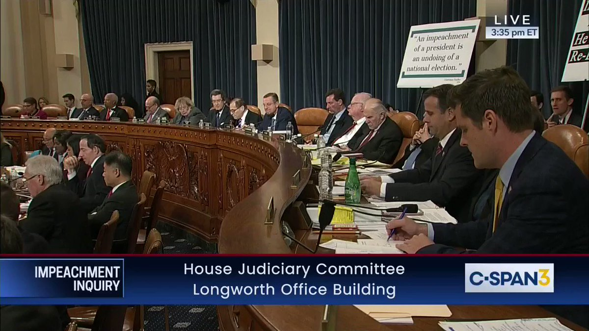 🚨 Mic drop from @RepRatcliffe & Jonathan Turley 🚨  ➡️ RATCLIFFE: So if I were to summarize your testimony - no bribery, no extortion, no obstruction of justice, no abuse of power. Is that fair?  ➡️ TURLEY: Not on this record.  Case closed. Time to shut down this partisan sham. https://t.co/GAFNQEpGdQ