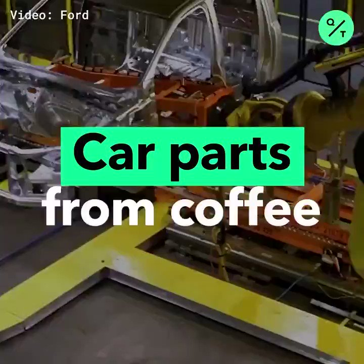 Ford and McDonalds are teaming up to create car parts out of recycled coffee beans