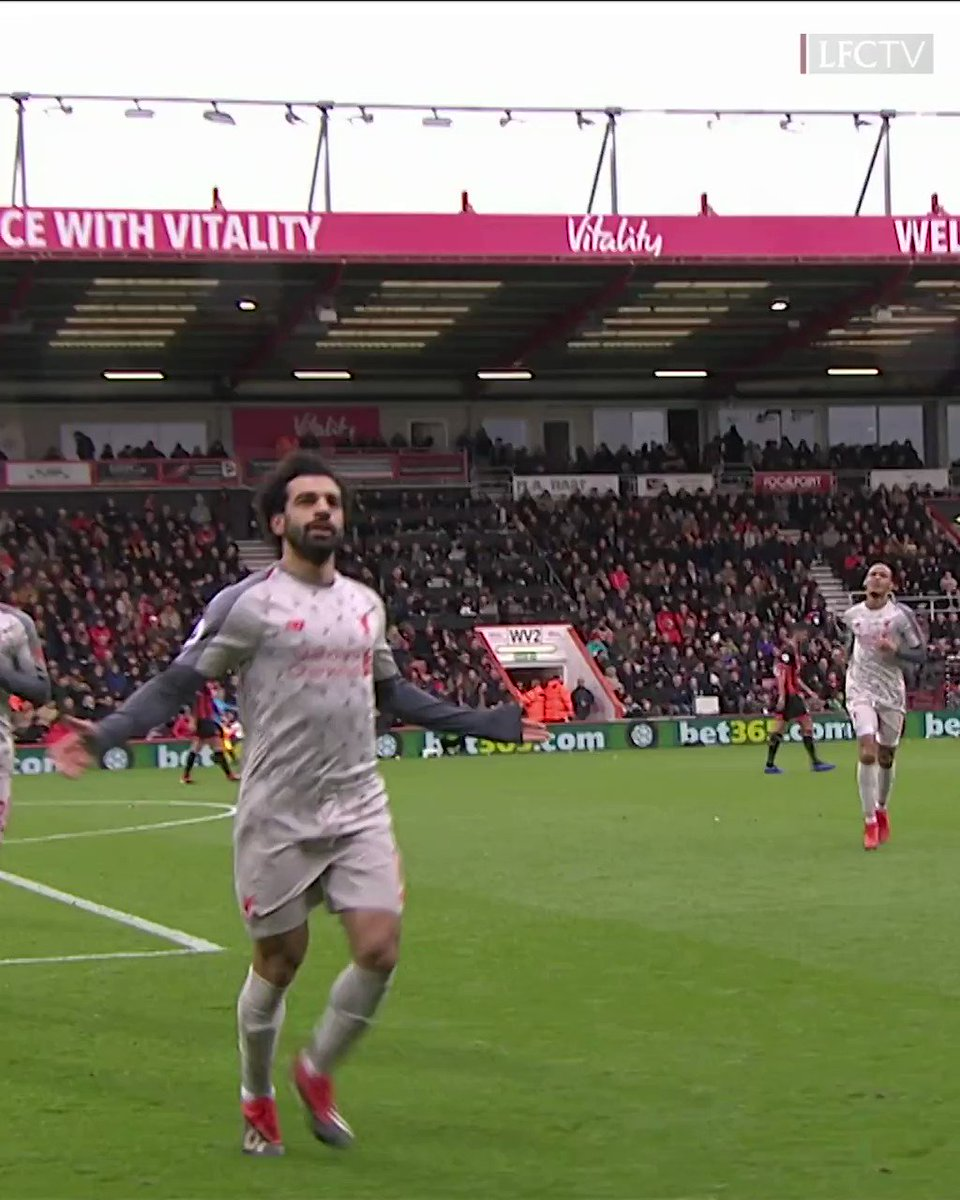 💫 MAGNIFICENT @MoSalah 💫 A special Salah hat-trick when we travelled to @afcbournemouth last season ⚽️