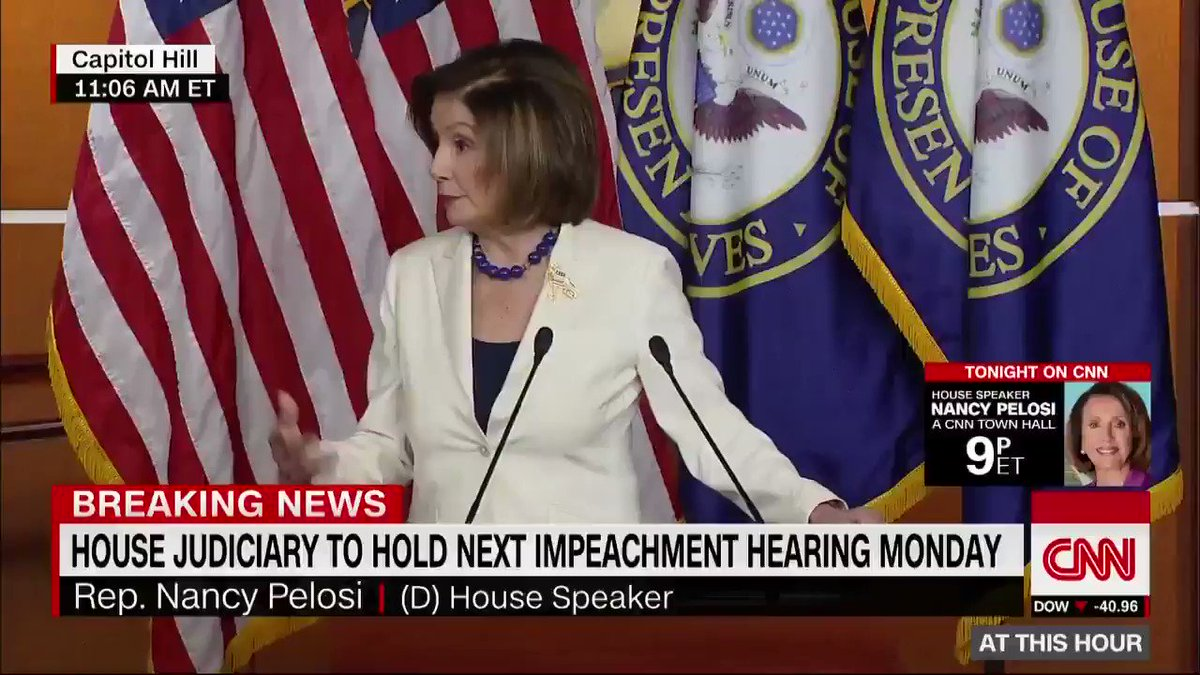 "House Speaker Nancy Pelosi fired back at a reporter who asked whether she hates Trump. ""I resent your using the word 'hate' in a sentence that addresses me. I don't hate anyone… so don't mess with me when it comes to words like that."" https://cnn.it/33SPcJ3"