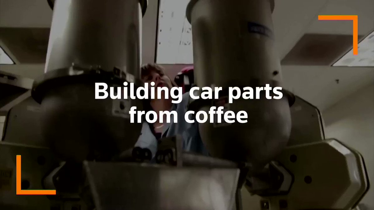 Building car parts from coffee such as the headlamp housing is part of a new initiative by  @Ford and  @McDonalds. The sustainable material used is coffee chaff which is the dried skin on a coffee bean that comes off during roasting