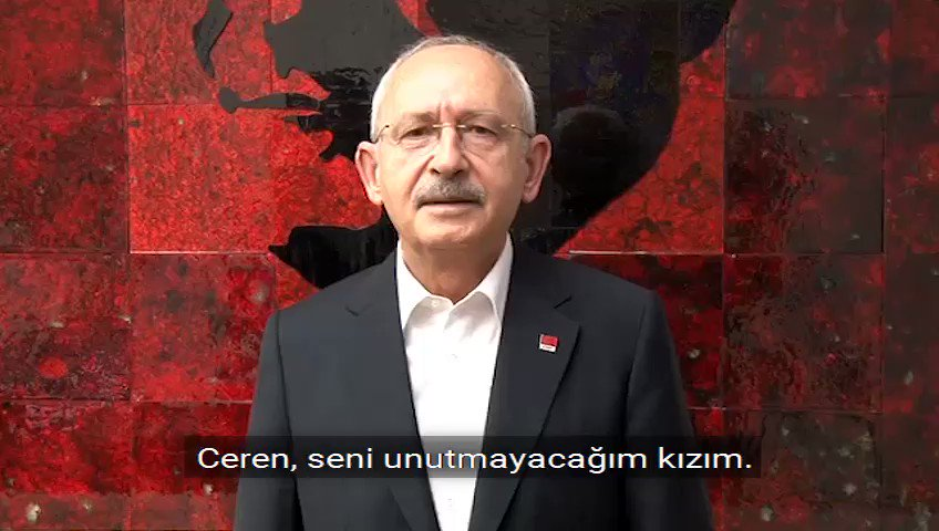 """Image for the Tweet beginning: #CerenÖzdemir """"Doğum günümde hediye almayın,"""