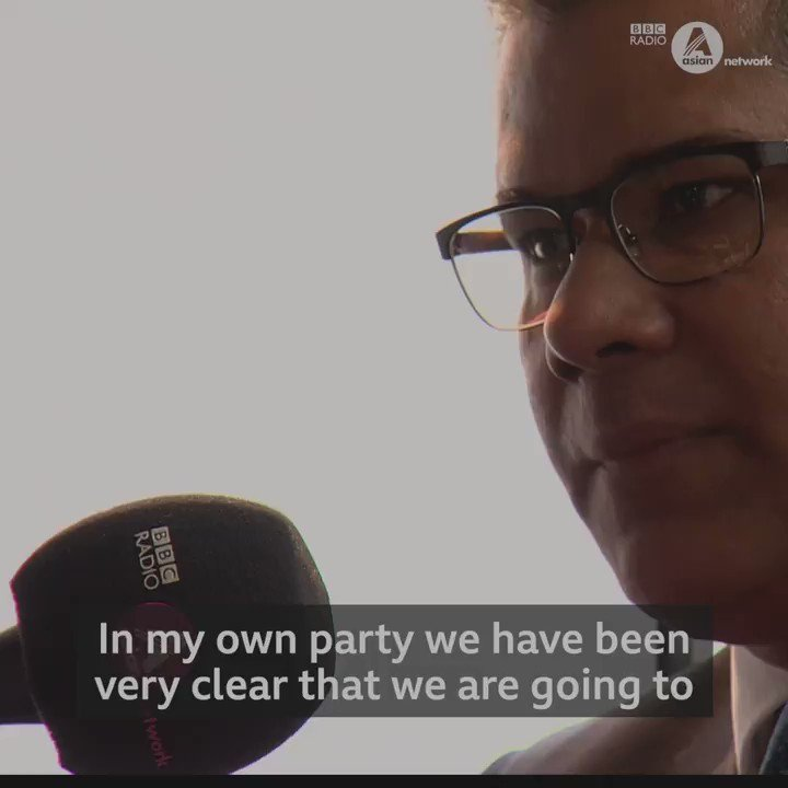 Conservative candidate and cabinet minister @AlokSharma_RDG attacks Jeremy Corbyn over anti-Semitism but he's challenged over Boris Johnson's record on Islamophobia. He was questioned by @qasalom on today's Big Debate election special. Full show: bbc.in/38dYDpY
