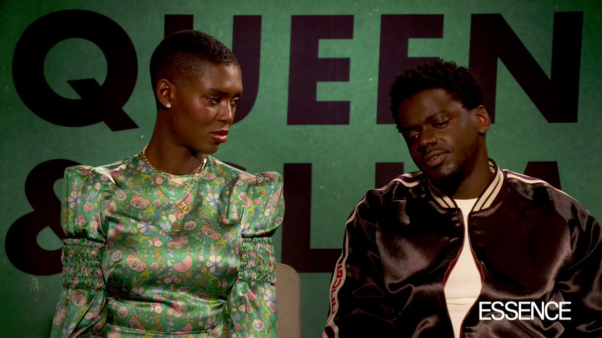 """Actor Daniel Kaluuya on the importance of black love: """"When I first watched #QueenAndSlim I thought 'I've never seen this before'. Two dark-skinned people being in love... I saw that as a kid [with my aunties and uncles], but not in a mainstream cinema"""" 🖤"""