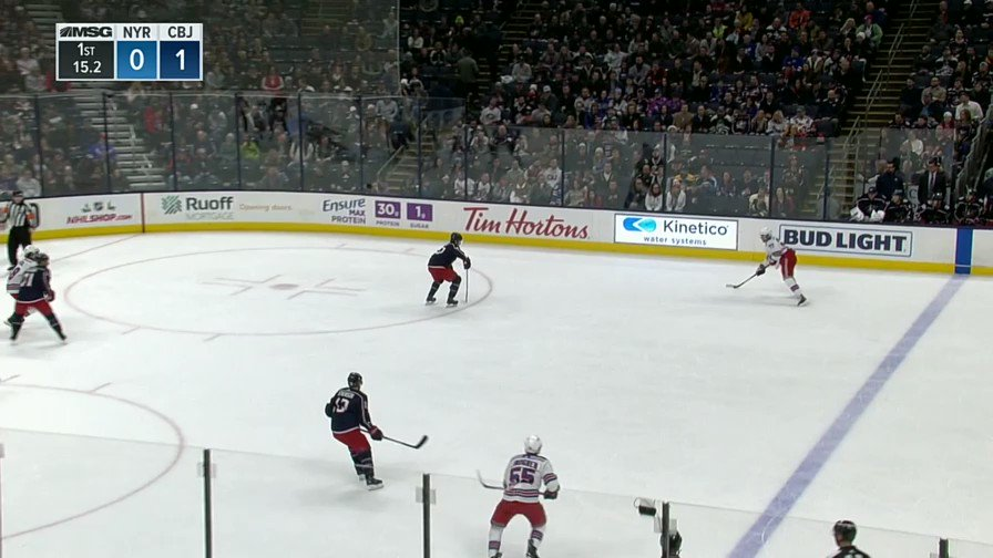 Who doesnt love a @MikaZibanejad pass like this?