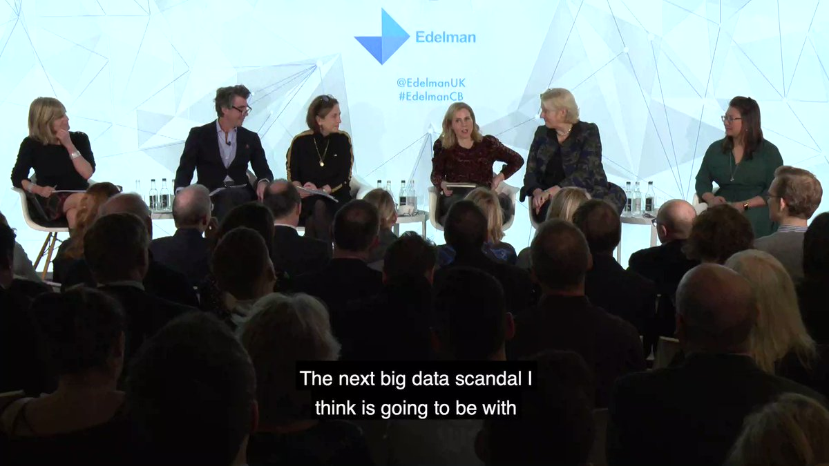 Could there be a big data scandal in 2020? Sally Phillips makes her predictions #EdelmanCB