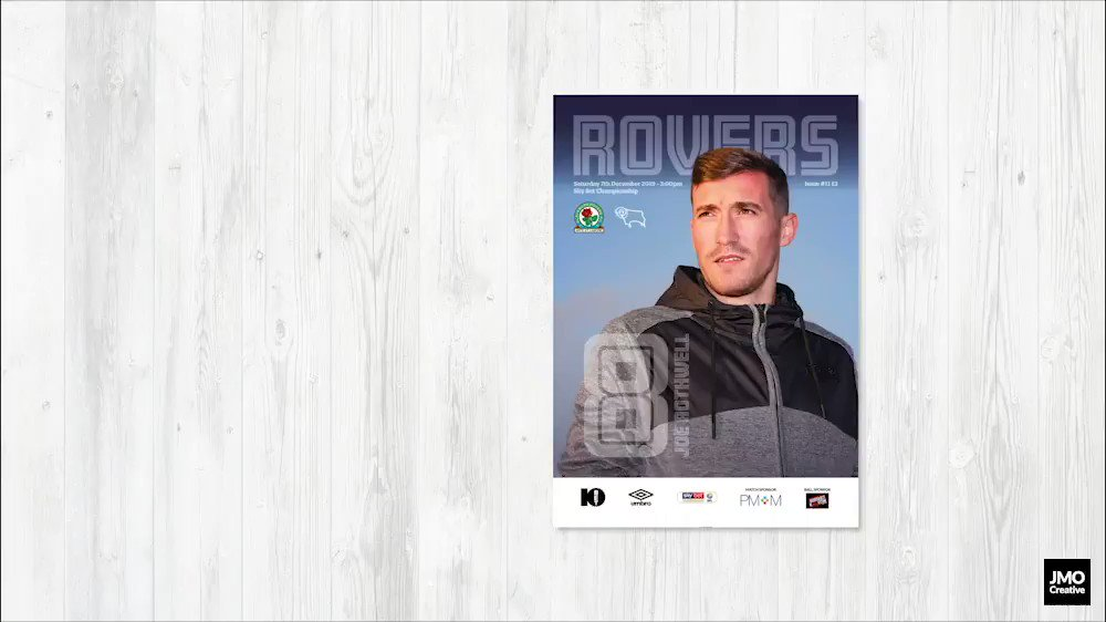 📖 Programme preview 👀 A look at whats inside our matchday programme against Derby County at Ewood Park this weekend. ➡️ bit.ly/2qwa3UW #Rovers 🔵⚪️