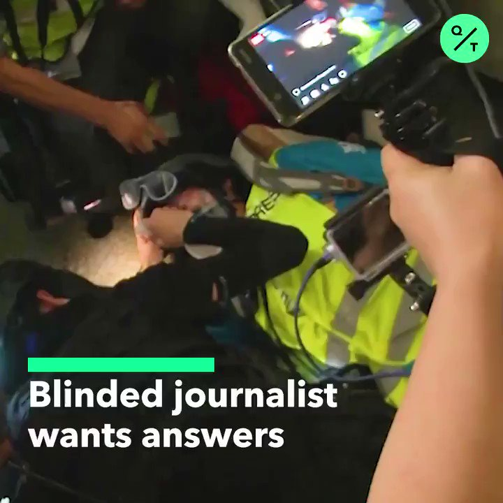 This Indonesian journalist was blinded in one eye while covering the #HongKongProtests. Now, she's demanding answers from the police