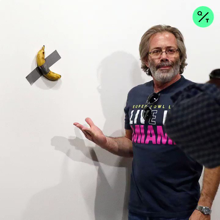 Some art collector paid $120,000 for a banana taped to a wall at Art Basel Miami. How much would you pay for it?