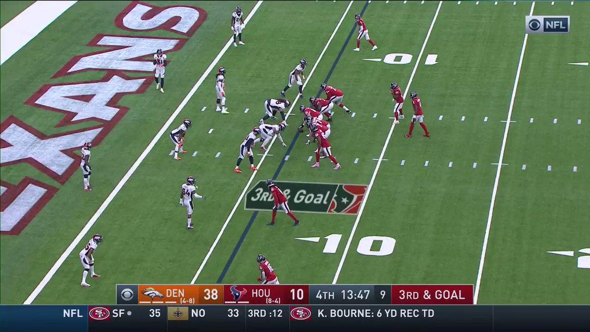 Deshaun with a miraculous touchdown run 😱 (via @HoustonTexans)