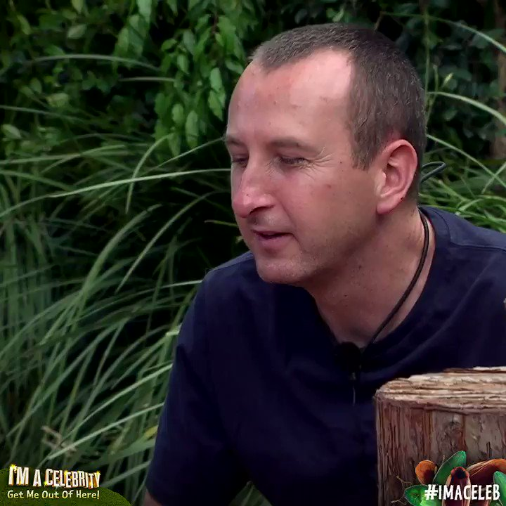 Thanks for all the positivity, @andywhyment81. It's been VERY nice having you around 😊 #ImACeleb