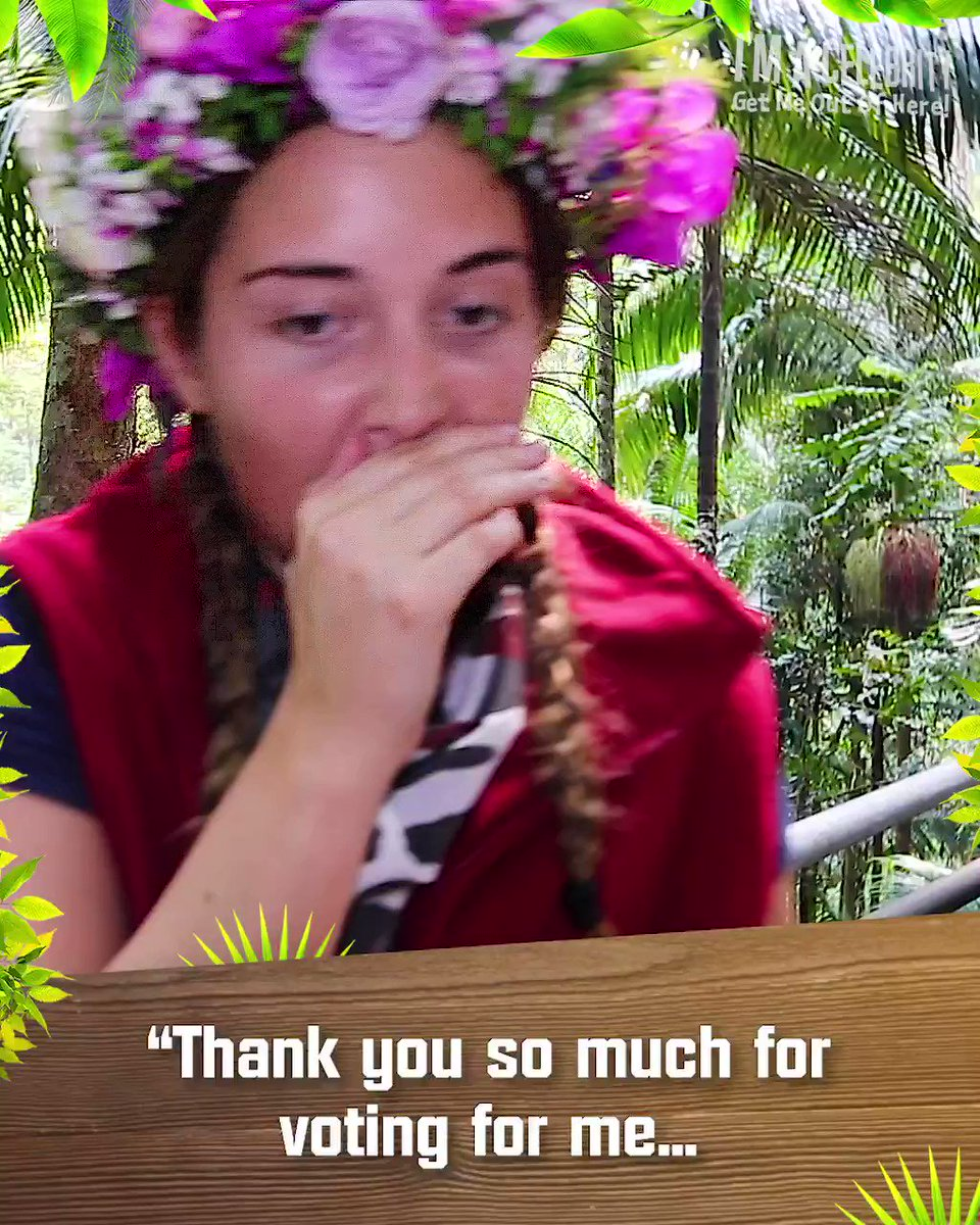 A message from your brand new Queen of the Jungle, @jacquelineMjos! 👑 #ImACeleb