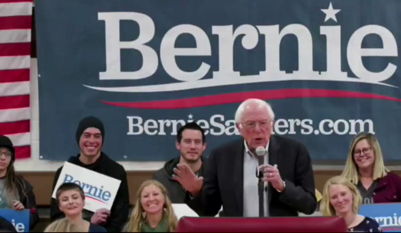 "Image for the Tweet beginning: Bernie Sanders: ""I believe I"