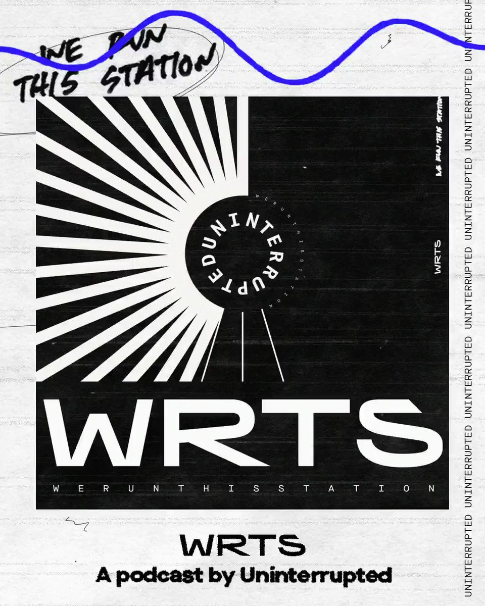 """Introducing WRTS: We Run This Station  Uninterrupted's variety podcast channel featuring athletes telling their """"UNguarded"""" and """"More Than An Athlete"""" stories   Subscribe 🎧: http://apple.co/2s6qzLH"""