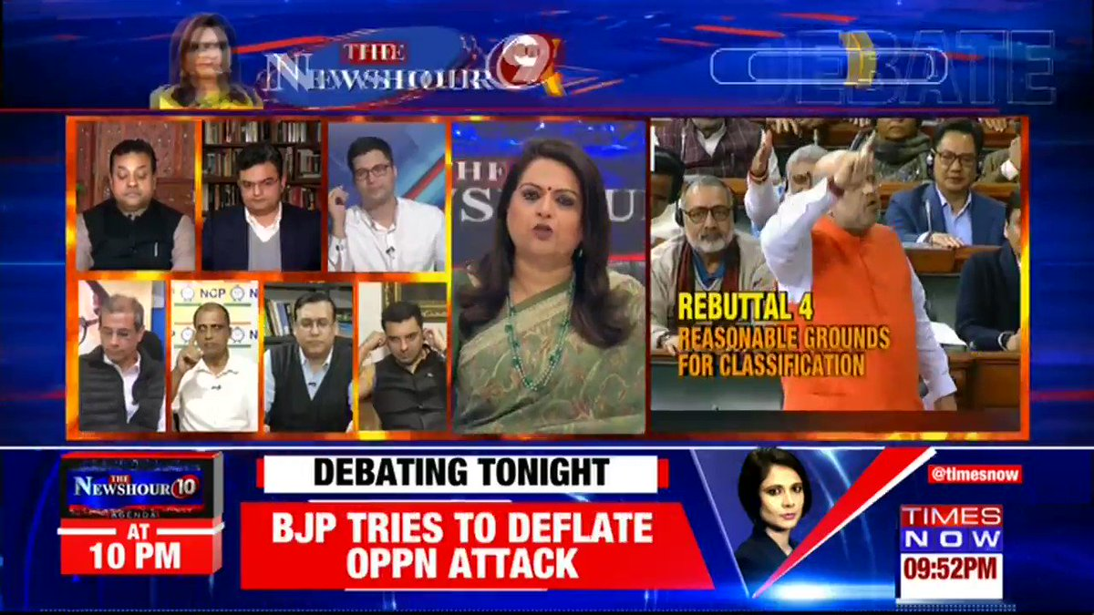 Massive vindication for @BJP4India. BJP smashes @INCIndia - JDS combination after the mandate against Mahamilavat in Karnataka. Share your view with Navika Kumar on @thenewshour. | Tweet with #BJPReclaimsKarnataka