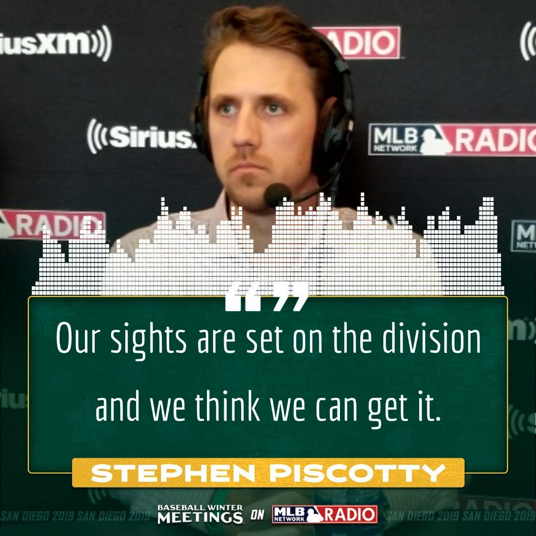 Stephen Piscotty and the A's are focused on one thing in 2020.@Athletics   #Athletics   #RootedinOakland