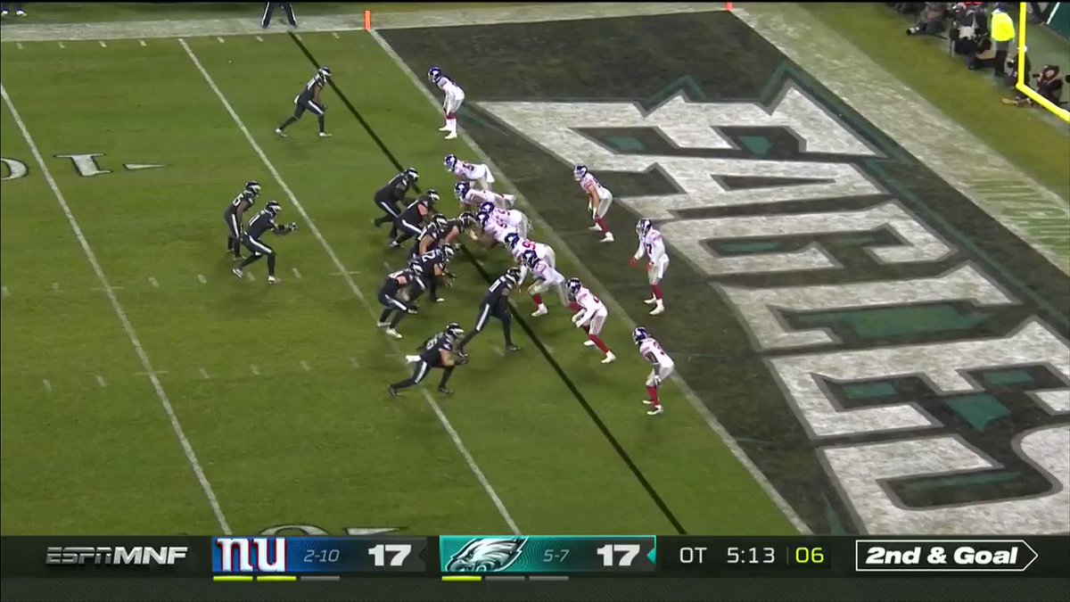Eagles (-435) complete the huge 2nd half comeback.   [🎥: @NFL]