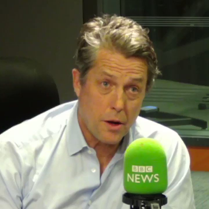 One of the cards... Boris Johnson didnt hold up was the one saying Because at Christmas you tell the truth Actor Hugh Grant @HackedOffHugh, who wants people to vote tactically against Brexit, gives his view of the PMs version of the famous Love Actually cards scene