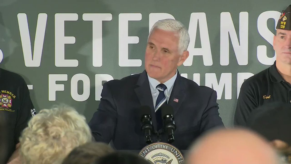 .@VP Mike Pence: Whats happening in Washington, DC today is a disgrace.