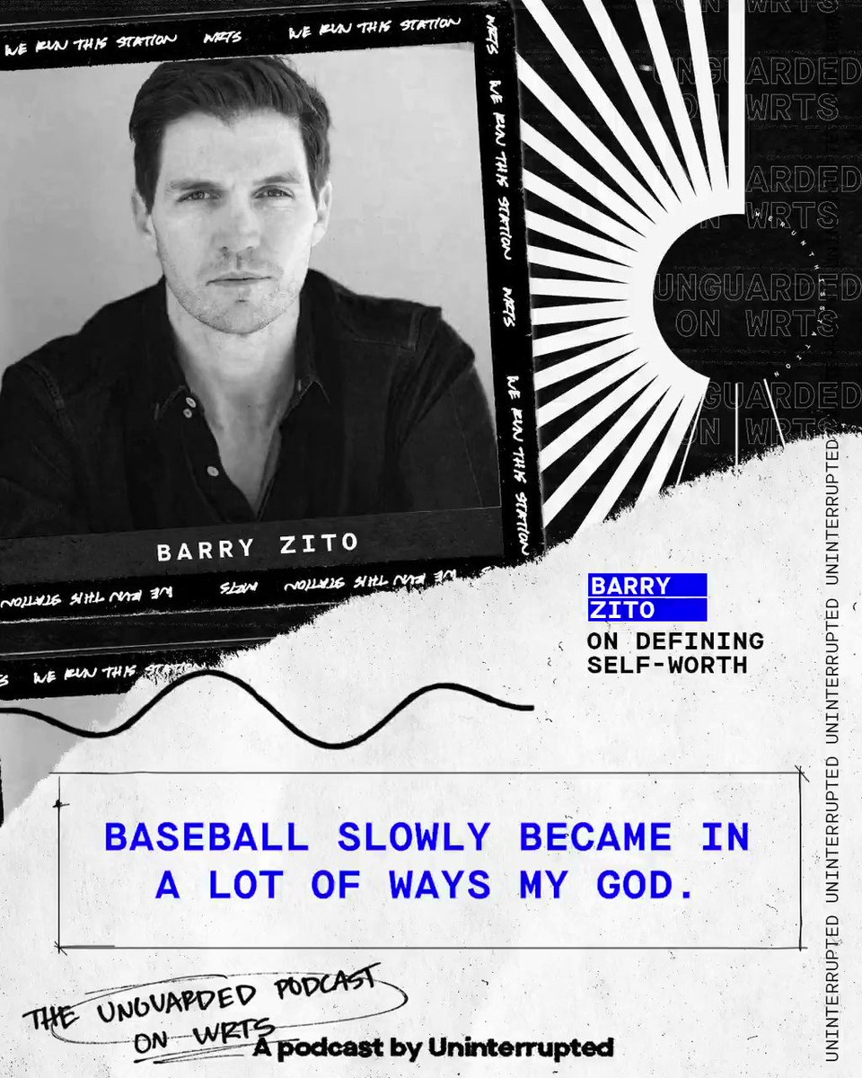 Former AL Cy Young winner @barryzitomusic gets real about his relationship with baseball on WRTS: We Run This Station, Uninterrupted's athlete variety podcast channel.   Listen on WRTS 📡: http://apple.co/2qGyord
