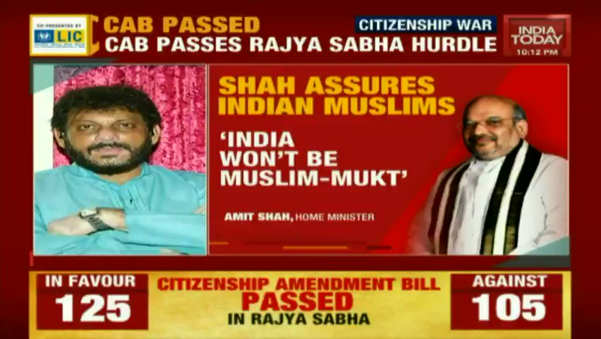 #CitizenshipAmendmentBill The government of the day is trying to divide the country in the name of Hindus and Muslims: @warispathan, AIMIM Watch #Newstrack LIVE, with @gauravcsawant: bit.ly/IT_LiveTV #CitizenshipBill