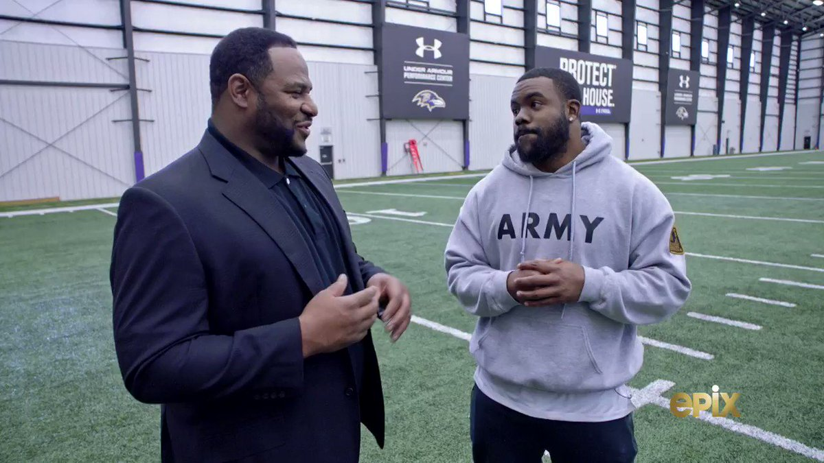 """I feel like he can be one of the best that this league has ever seen.""  @markingram21 explains how he came to be @Lj_era8's personal hype man. 🗣  📺: #NFLTheGrind on @EPIXHD"