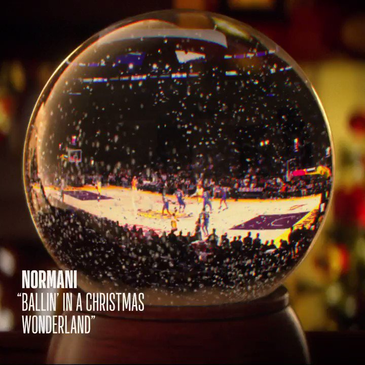 🏀 Ballin' in a Christmas Wonderland!  'Tis the season for the #NBAXmas. It's the most wonderful time of the year.   12:00pm/et: BOS/TOR, ESPN 2:30pm/et: MIL/PHI, ABC 5:00pm/et: HOU/GSW, ABC 8:00pm/et: LAC/LAL, ABC/ESPN 10:30pm/et: NOP/DEN, ESPN  🎤: @Normani