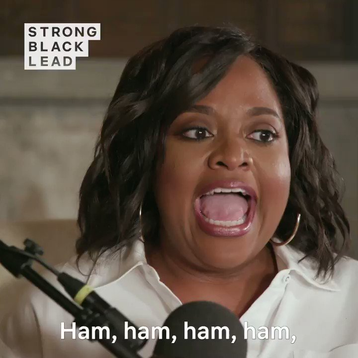 People do like the way she says ham.  Listen to @SherriEShepherd on @strongblacklead's Strong Black Laughs podcast: