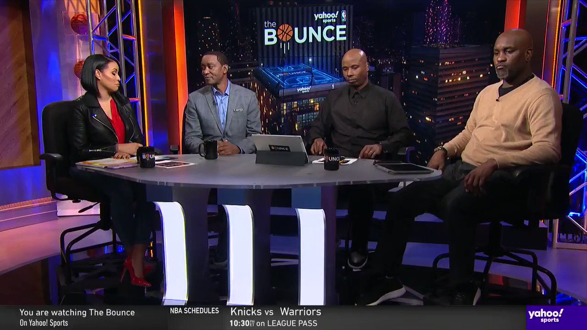 Isiah Thomas, @GaryPayton_ and @QRich share which player was the hardest for them to defend...  ...and none say Michael Jordan 🤔 #TheBounce