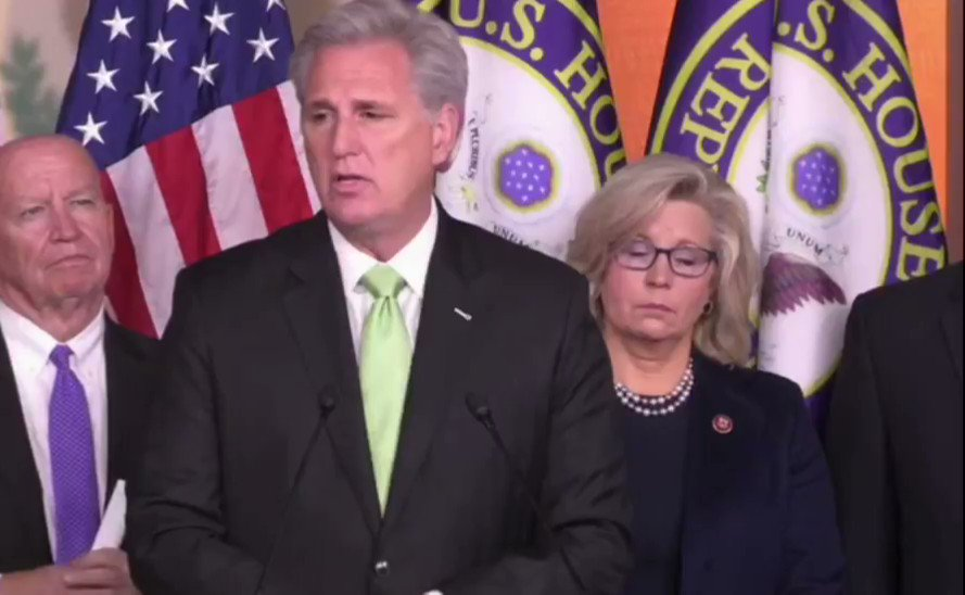 "Rep. Kevin McCarthy on USMCA: ""The only reason [Speaker Pelosi] finally relented was because of the unpopularity of impeachment itself."""