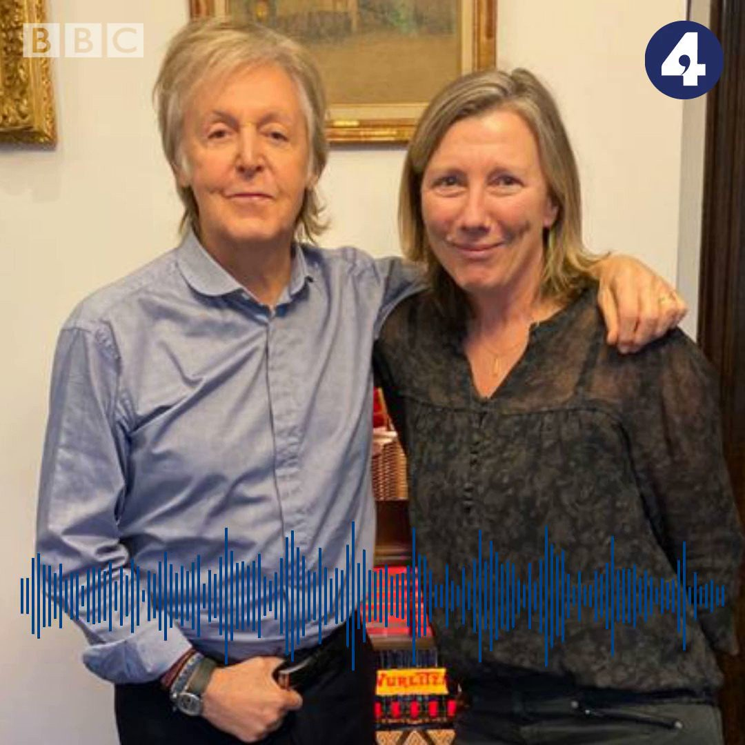 On the programme at 13.00, @PaulMcCartney tells @Sarah_Montague about his support for @MeatFreeMonday, young climate activists, and his unreleased record of Christmas carols, made just for his family #bbcwato