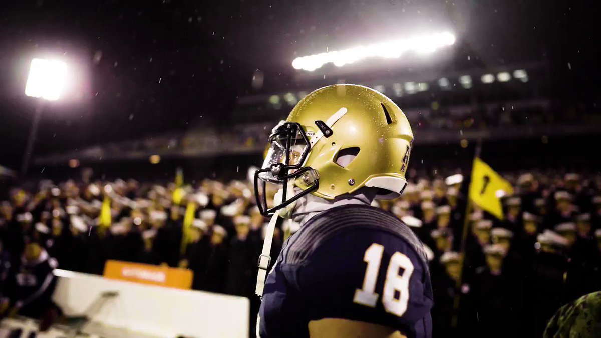 Navy Releases Epic Hype Video For Saturday's Game vs. Army