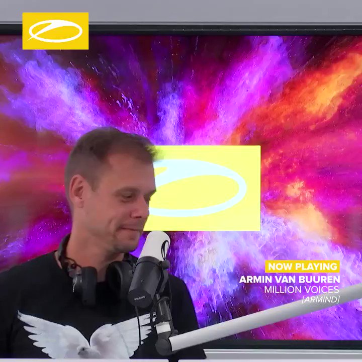 .@arminvanbuuren's 'Million Voices' being dropped by the man in charge on #ASOT937! Find this anthem, taken from his latest album Balance, here: https://t.co/IxGeSQUGSV #Trance #ArminvanBuuren #ASOT https://t.co/yFqomUZNOB