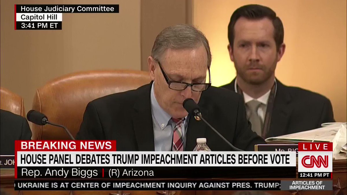 """.@RepAndyBiggsAZ: """"Democrats want to impeach the president for trying to ensure that taxpayer funds are spent efficiently and responsibly."""""""