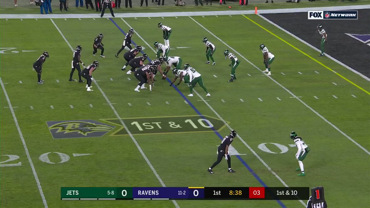 With this run, Lamar Jackson now owns the single-season record for rushing yards by a QB! @Lj_era8 #RavensFlock 📺: #NYJvsBAL on @NFLNetwork | @NFLonFOX | @PrimeVideo How to watch: nfl.com/tnf