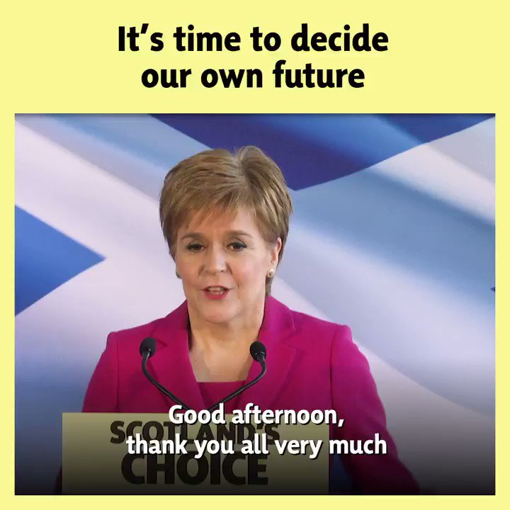Scotland's campaign for a new independence referendum begins