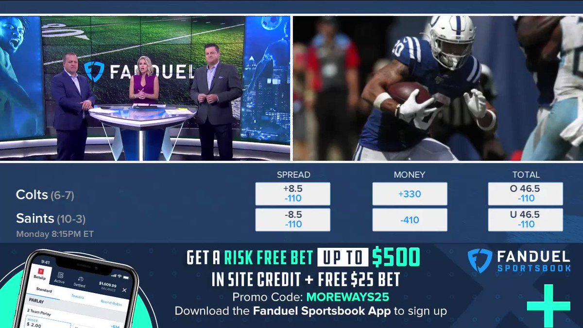 Watch @icecoldexacta and @mrogondino go back and forth on whether the 8.5 spread is too large for the Saints to cover 👀