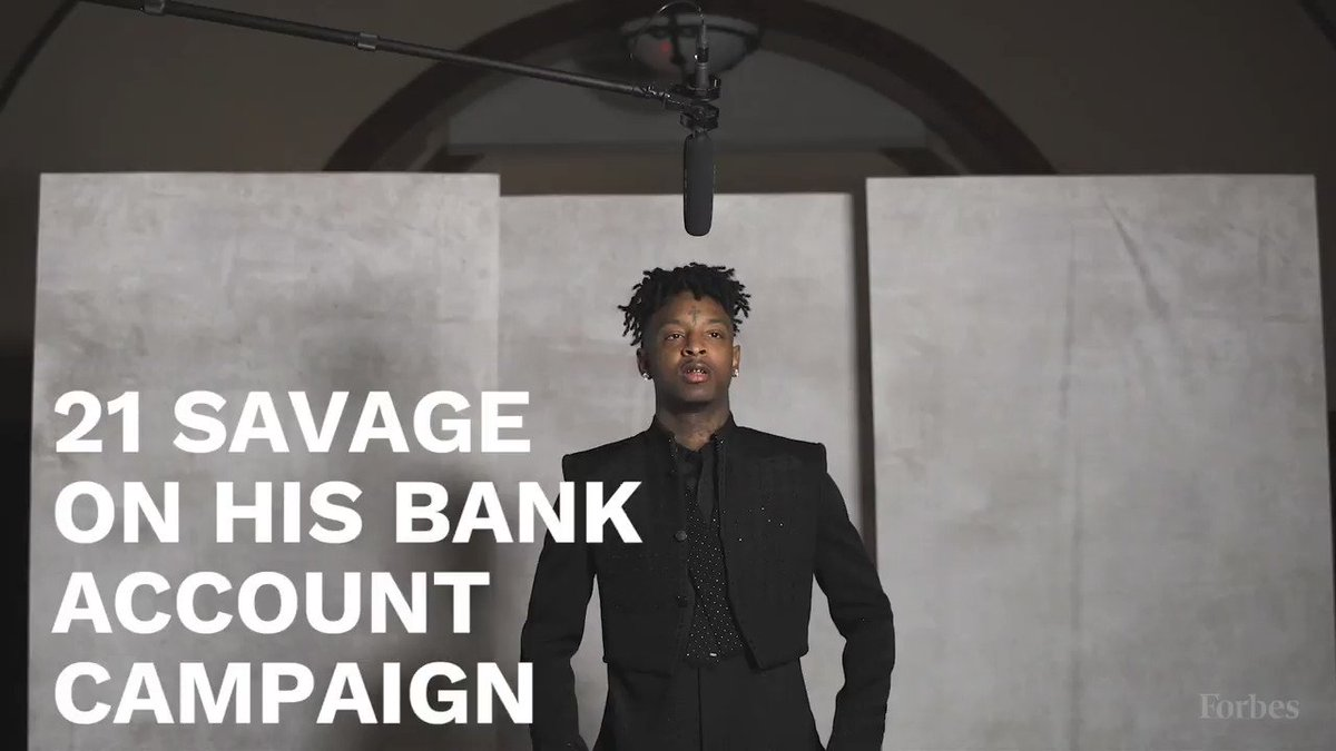 Image for the Tweet beginning: 21 Savage created a program