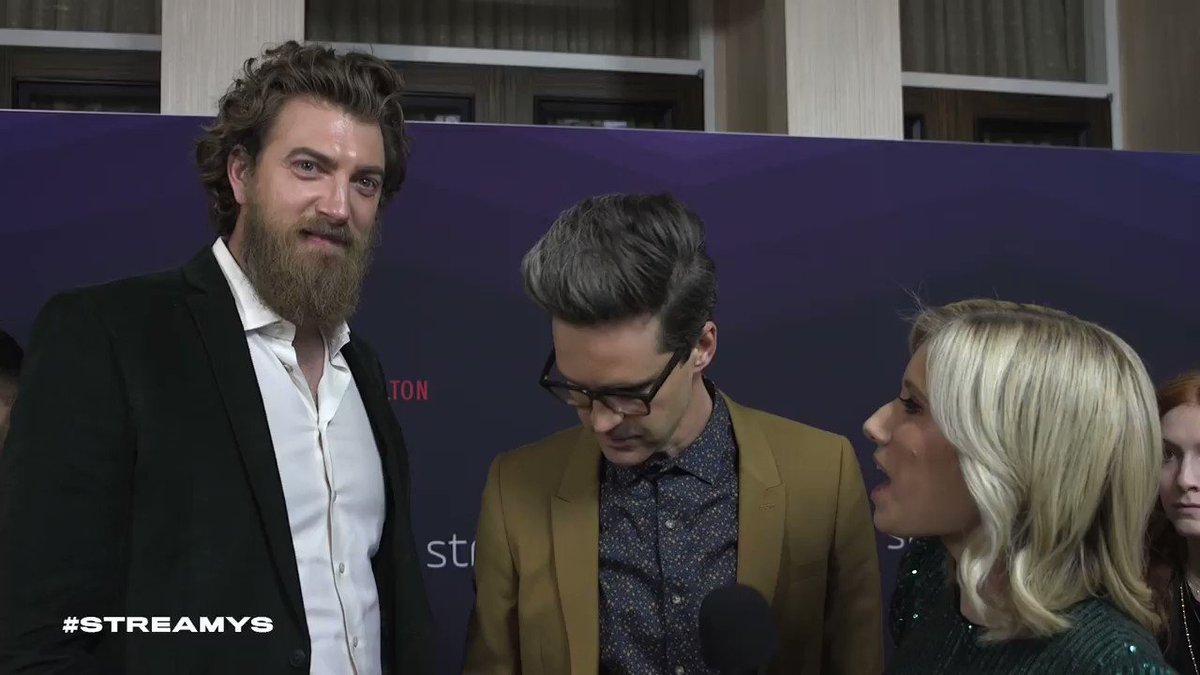 Show of the Year winners @rhettandlink reflecting on some LOLs from #streamys history. https://t.co/w4KgwOVayR